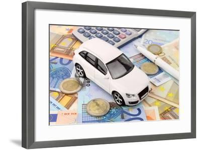 Euro Car Finance-spectrumblue-Framed Photographic Print