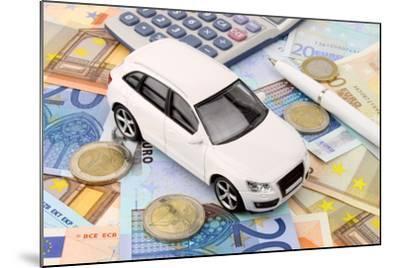 Euro Car Finance-spectrumblue-Mounted Photographic Print