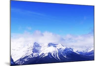Snowy Mountains-elenathewise-Mounted Photographic Print