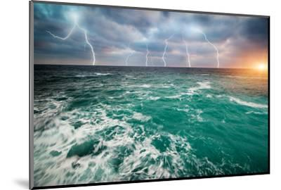 Storm on the Sea-Kashak-Mounted Photographic Print