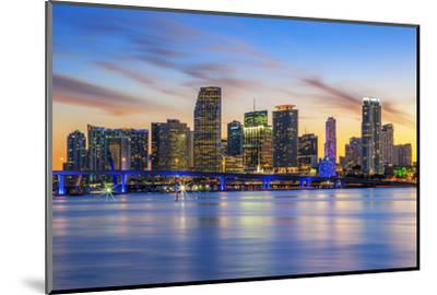 Famous City of Miami-prochasson-Mounted Photographic Print