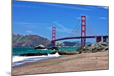 The Golden Gate Bridge-cec72-Mounted Photographic Print
