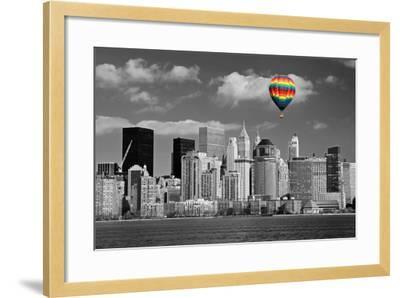 Lower Manhattan Skyline-Gary718-Framed Photographic Print