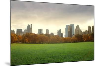 View of New York Buildings from Central Park-olly2-Mounted Photographic Print