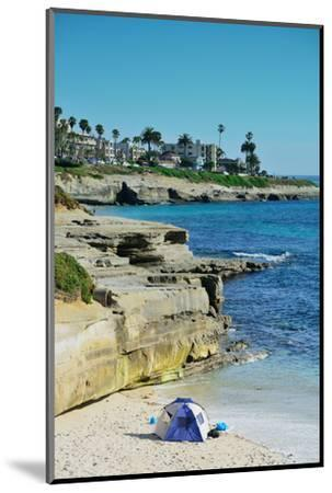 La Jolla Cove Beach at San Diego.-Songquan Deng-Mounted Photographic Print