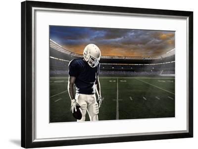 Football Player-Beto Chagas-Framed Photographic Print