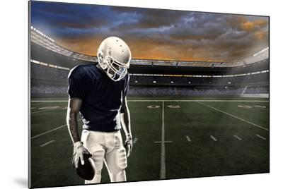 Football Player-Beto Chagas-Mounted Photographic Print