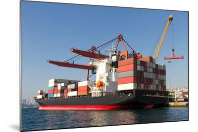 Container Ship-EvrenKalinbacak-Mounted Photographic Print