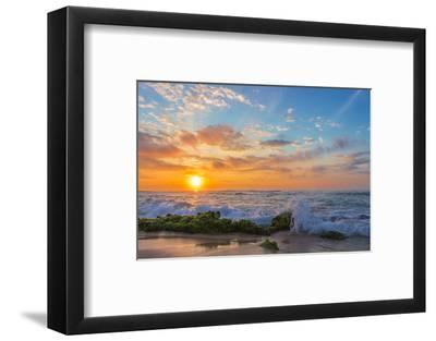 Sandy's Sunrise-Island Leigh-Framed Photographic Print