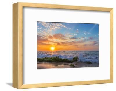 Sandy's Sunrise-Island Leigh-Framed Photographic Print