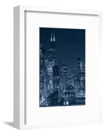Chicago.-rudi1976-Framed Photographic Print