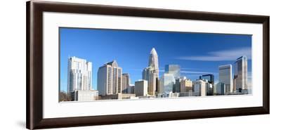 Uptown Charlotte, North Carolina Cityscape-SeanPavonePhoto-Framed Photographic Print