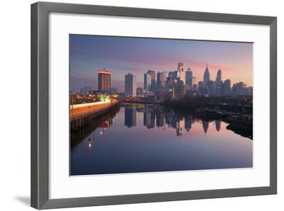 City of Philadelphia.-rudi1976-Framed Photographic Print