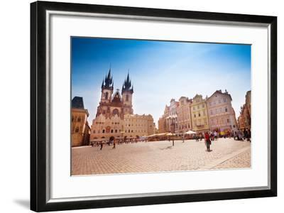 Old Town Square-SerrNovik-Framed Photographic Print