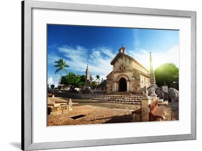 Village Altos De Chavon, Dominican Republic-Iakov Kalinin-Framed Photographic Print