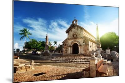 Village Altos De Chavon, Dominican Republic-Iakov Kalinin-Mounted Photographic Print