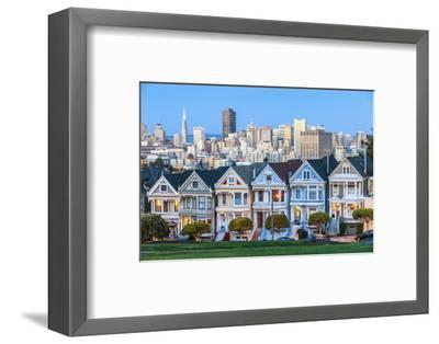 The Painted Ladies of San Francisco-prochasson-Framed Photographic Print