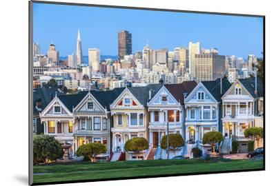 The Painted Ladies of San Francisco-prochasson-Mounted Photographic Print