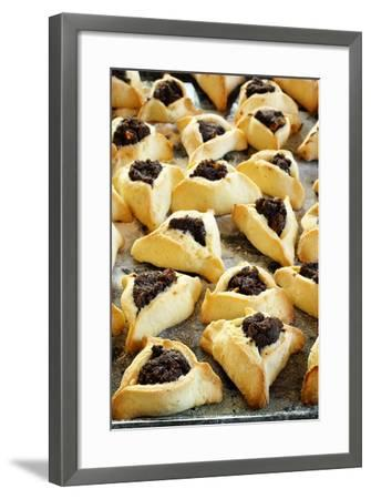Hamantaschen (Jewish Cookies with Poppy Seed)-Elzbieta Sekowska-Framed Photographic Print