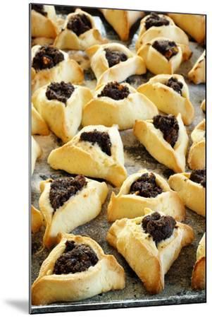 Hamantaschen (Jewish Cookies with Poppy Seed)-Elzbieta Sekowska-Mounted Photographic Print