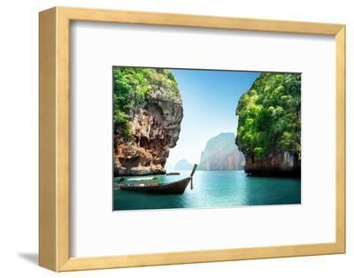 Fabled Landscape of Thailand-Iakov Kalinin-Framed Photographic Print