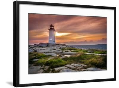 Peggy's Cove-vladikpod-Framed Photographic Print