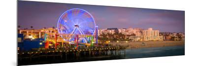 Santa Monica Pier-CelsoDiniz-Mounted Photographic Print