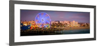 Santa Monica Pier-CelsoDiniz-Framed Photographic Print