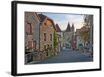 Old Medieval Looking European Street-vitalytitov-Framed Photographic Print