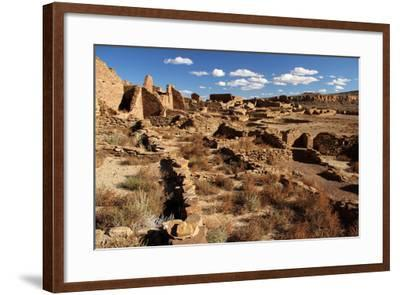 Pueblo Bonito Ruins-Wilsilver-Framed Photographic Print