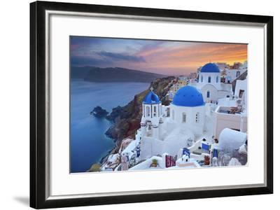 Santorini.-rudi1976-Framed Photographic Print