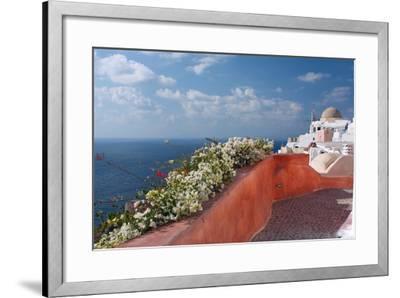 Santorini, Greece-Dikti-Framed Photographic Print