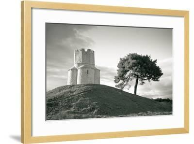 Dalmatian Stone Church on the Hill-xbrchx-Framed Photographic Print