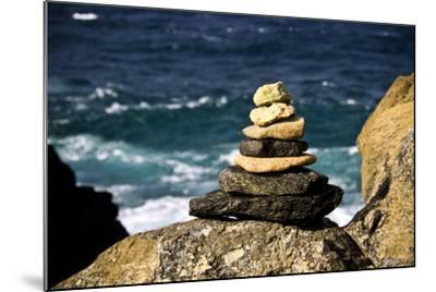 Stone Pile-Redwall-Mounted Photographic Print