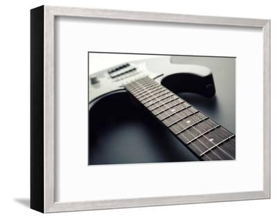Electric Guitar-Nomad Soul-Framed Photographic Print