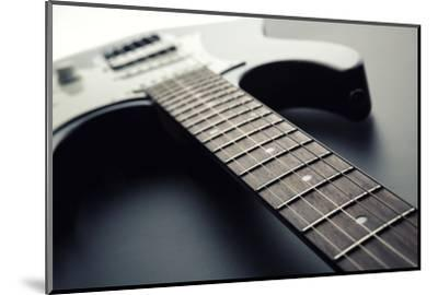 Electric Guitar-Nomad Soul-Mounted Photographic Print