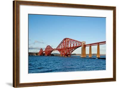The Forth Bridge, Finally, Painted!- Versevend-Framed Photographic Print