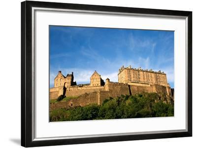 Edinburgh Castle-ZapIchigo-Framed Photographic Print