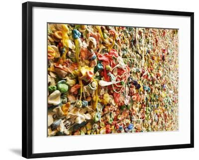 Post Alley Chewing Gum Details-searagen-Framed Photographic Print