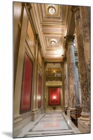 Minnesota Capitol Corridor-jrferrermn-Mounted Photographic Print