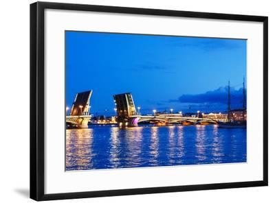 Annunciation Bridge in Saint-Petersburg-Ruslan_23-Framed Photographic Print