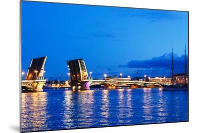 Annunciation Bridge in Saint-Petersburg-Ruslan_23-Mounted Photographic Print