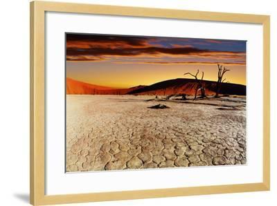 Namib Desert, Sossusvlei, Namibia-DmitryP-Framed Photographic Print