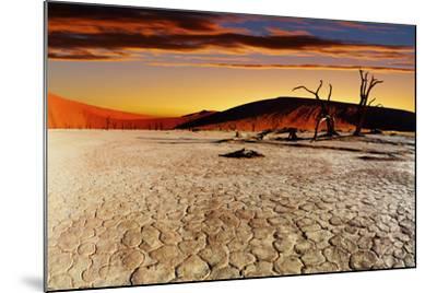 Namib Desert, Sossusvlei, Namibia-DmitryP-Mounted Photographic Print