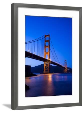 Golden Gate Bridge-John Roman Images-Framed Photographic Print
