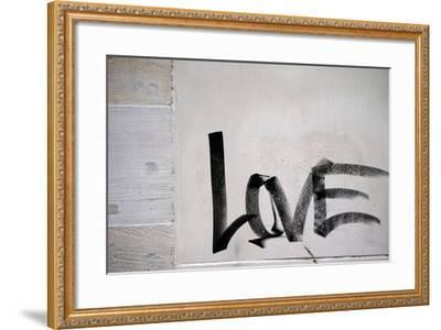 Word Love-ginton-Framed Photographic Print