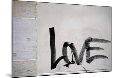 Word Love-ginton-Mounted Photographic Print