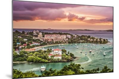 Cruz Bay, St John, United States Virgin Islands.-SeanPavonePhoto-Mounted Photographic Print