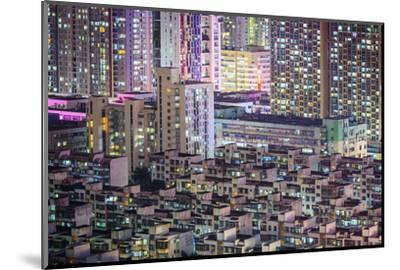 Shenzhen, China City Skyline at Twilight.-SeanPavonePhoto-Mounted Photographic Print