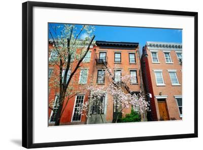 West Village New York City Apartments in the Springtime-SeanPavonePhoto-Framed Photographic Print